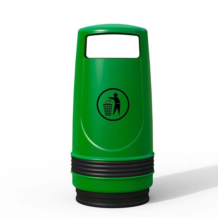 Corbeille Fenix vert