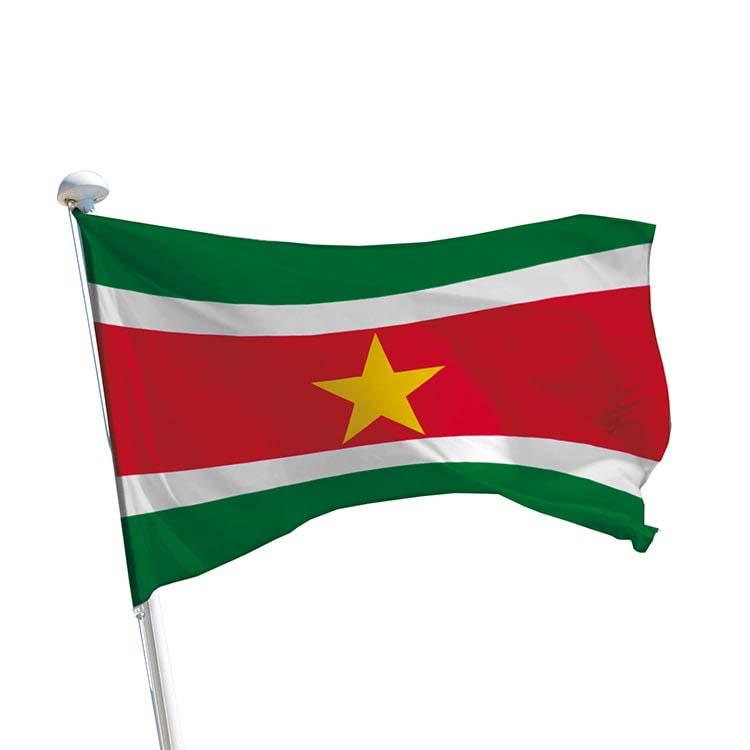 Drapeau Suriname pour mât