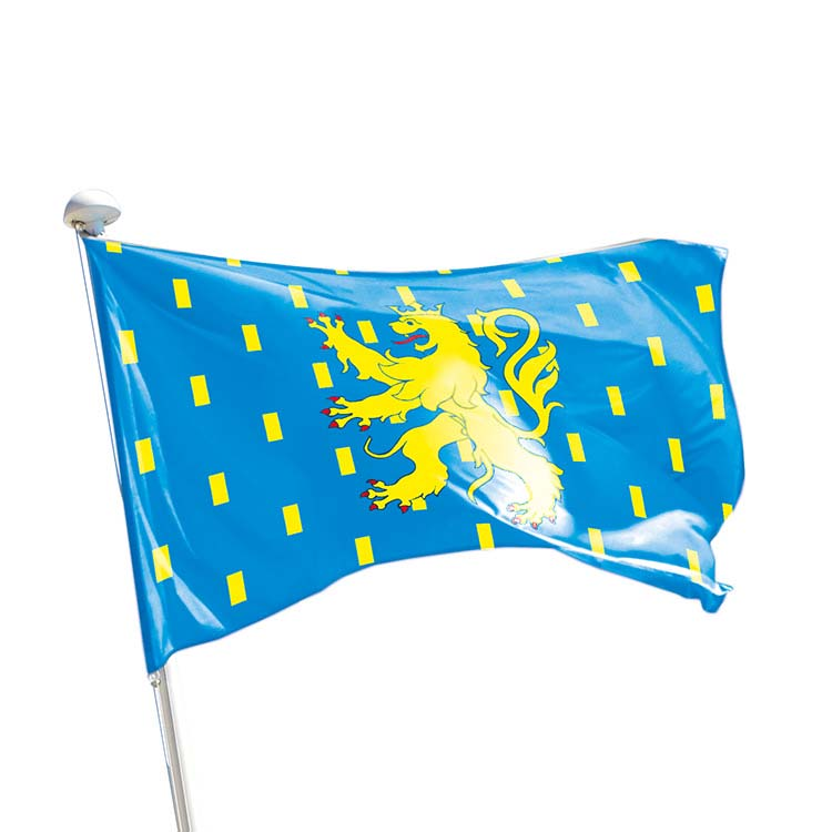 Drapeau province Franche-Comté pour mât
