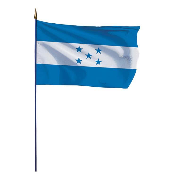 Drapeau Honduras sur hampe