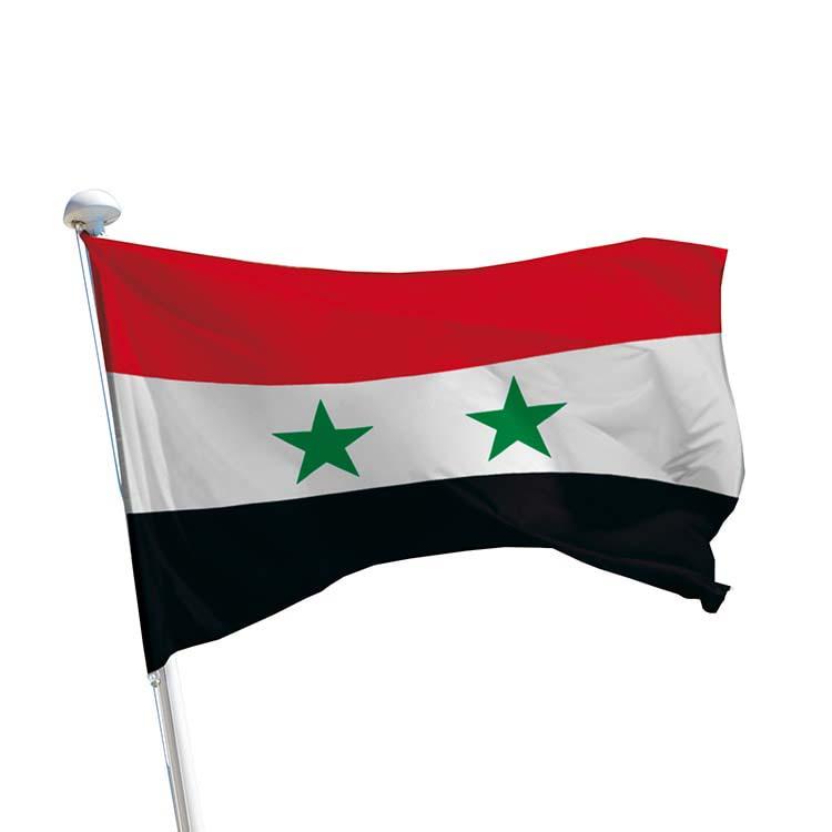 Drapeau Syrie pour mât