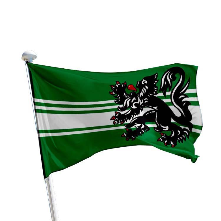 Drapeau Flandre Orientale pour mât (BE)