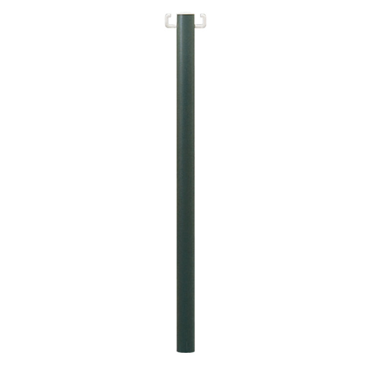 Poteau PVC à planter vert