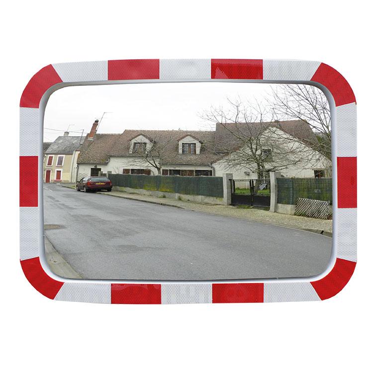 Miroir de sécurité pour voies privées