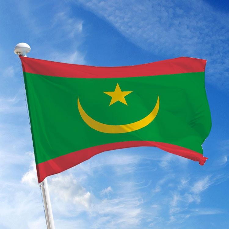 Pavillon Mauritanie