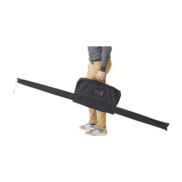 Kit mât télescopique Essentiel avec sac de transport