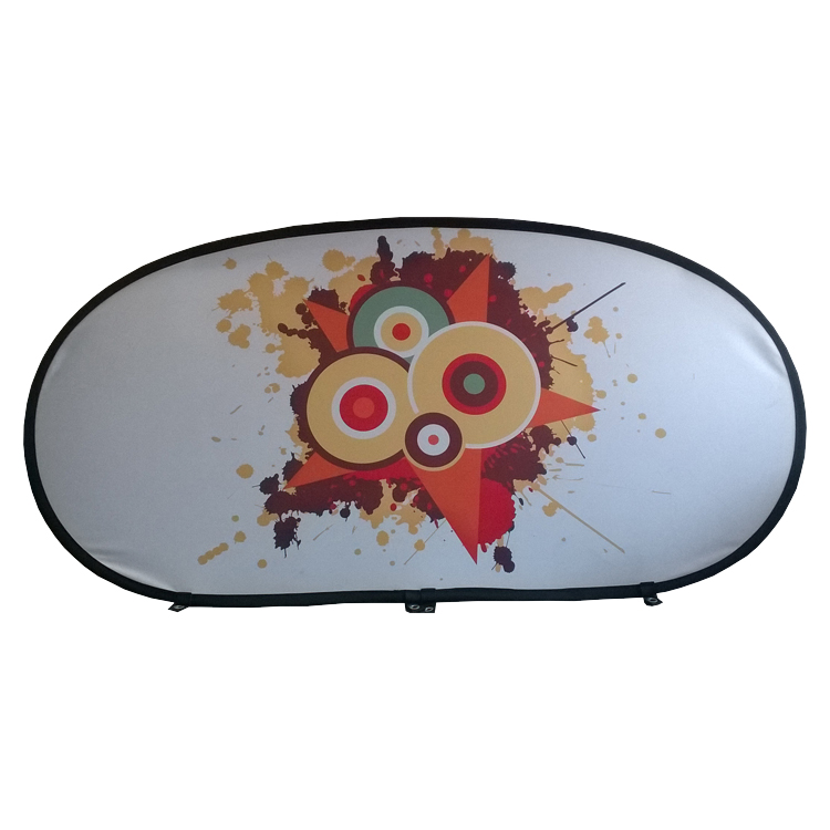 Pop-Out Banner oval