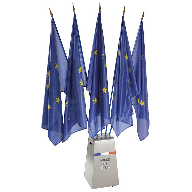 Faisceau de drapeaux mobils
