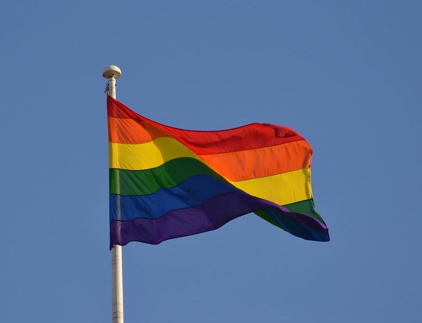 Hissfahne Pride quer