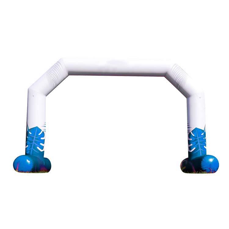 Arche gonflable flottante Reverso de derrière