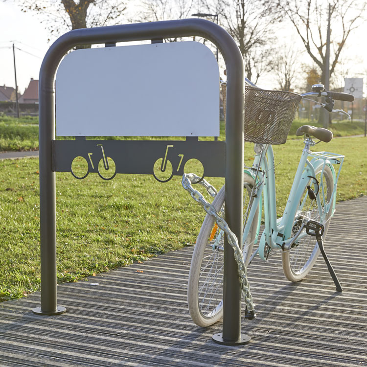 Arceau pour vélos personnalisable
