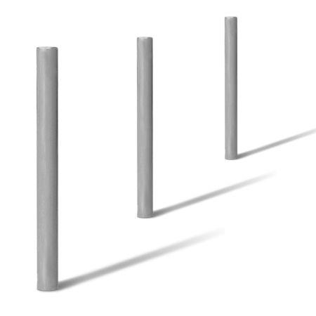 potelets anti stationnement laqu ou galvanis 90 cm hors. Black Bedroom Furniture Sets. Home Design Ideas