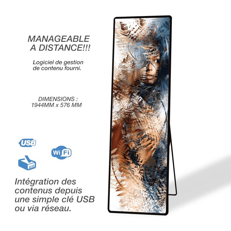 Kamemono digital - Manageable à distance