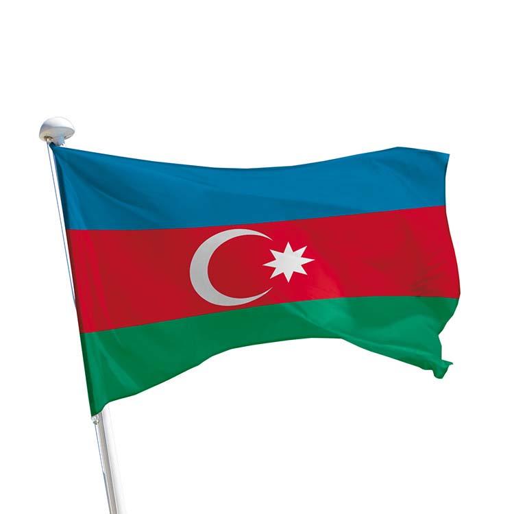 Drapeau Azerbaïdjan pour mât