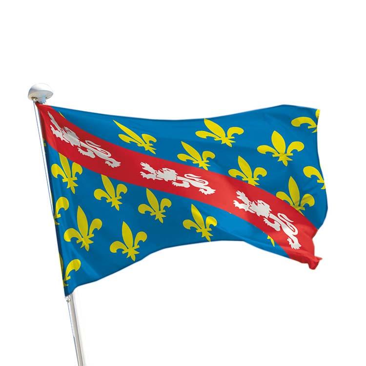 Drapeau province Marche pour mât