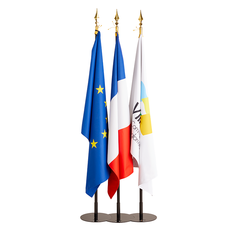 Drapeau France, Europe et personnalisable