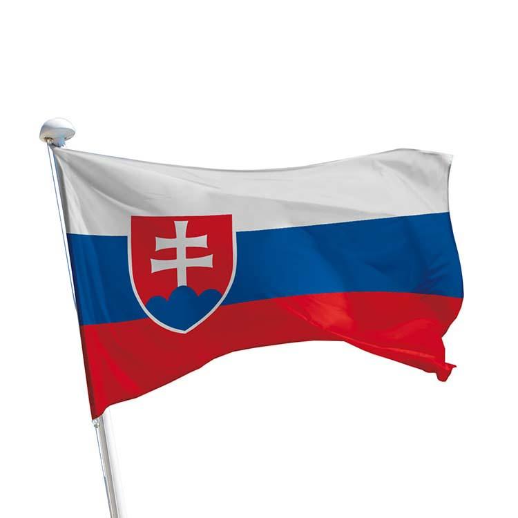 Drapeau Slovaquie pour mât