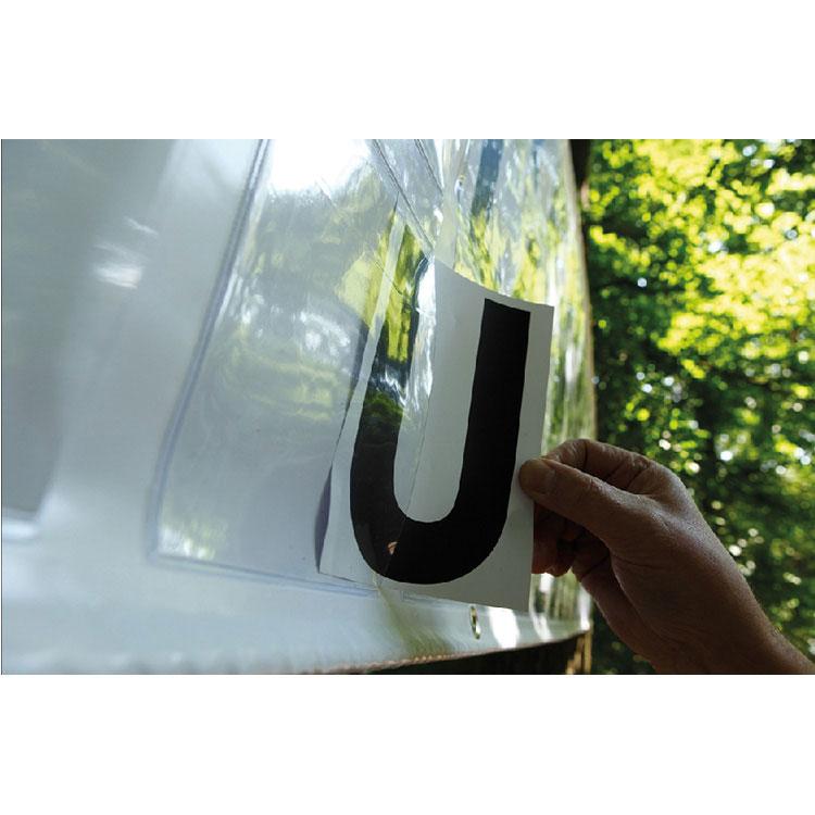 Pochette en PVC transparente