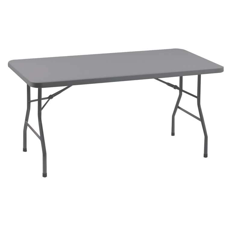 Table pliante Duralight 152 cm pour collectivités