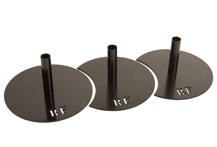 Montage trois socles RF