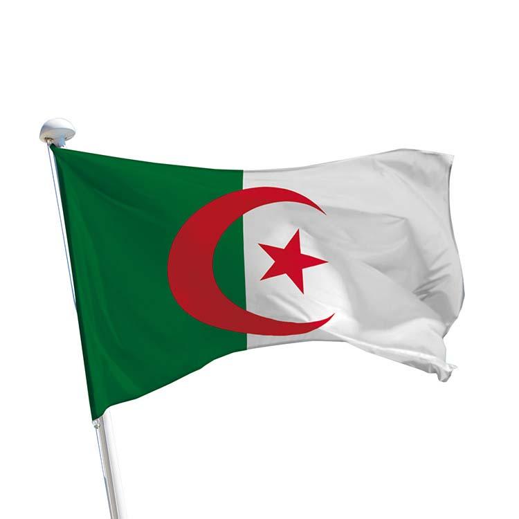 Drapeau Algérie à hisser à un mât