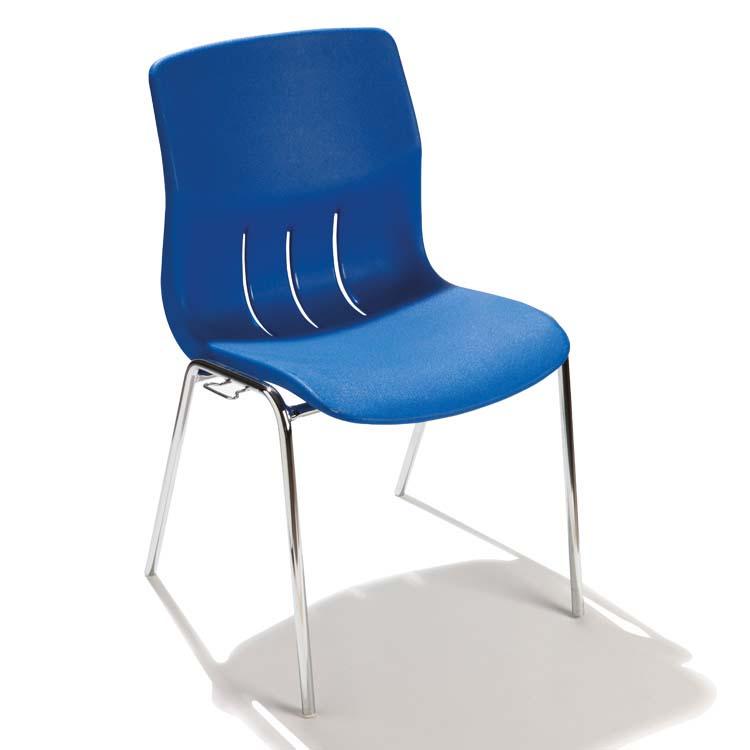 Chaise coquergo bleue