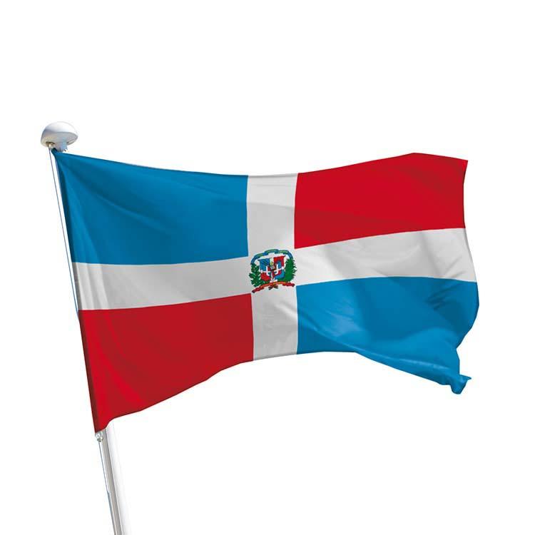 Drapeau République Dominicaine pour mât