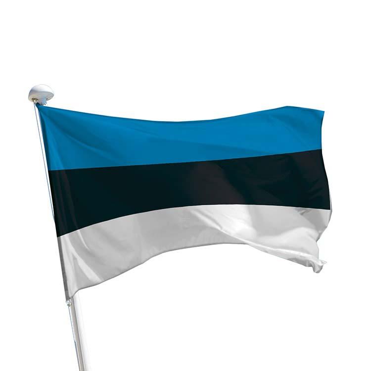 Drapeau Estonie pour mât
