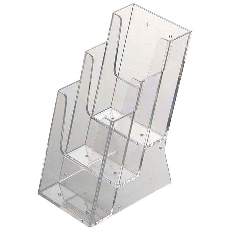 Présentoir de comptoir 3 compartiments