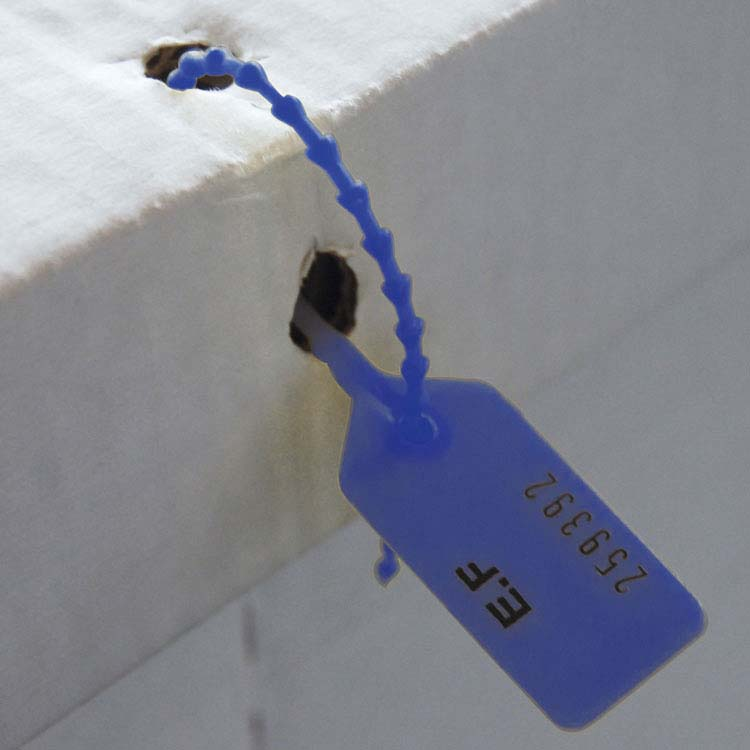Urne en carton scellée et sécurisée