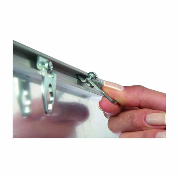 Accroche panneau d'affichage 9 mm magnétique