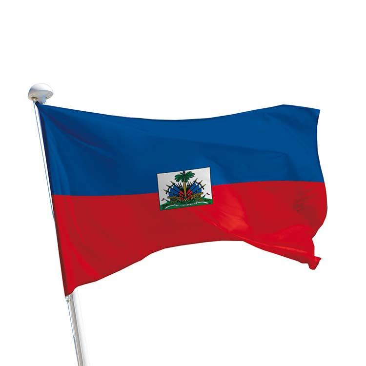 Drapeau Haïti pour mât