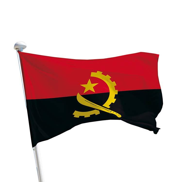 Drapeau Angola pour mât
