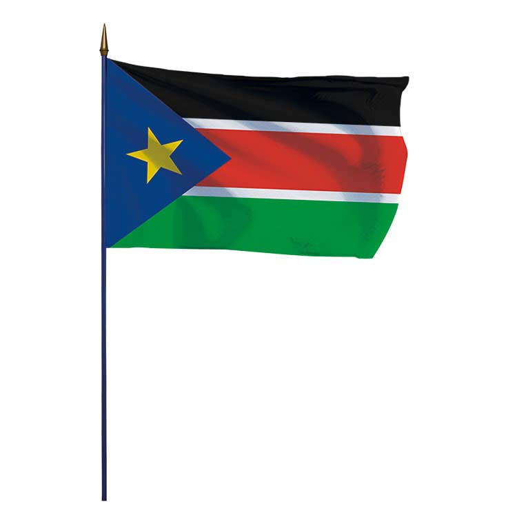 Drapeau Sud Soudan