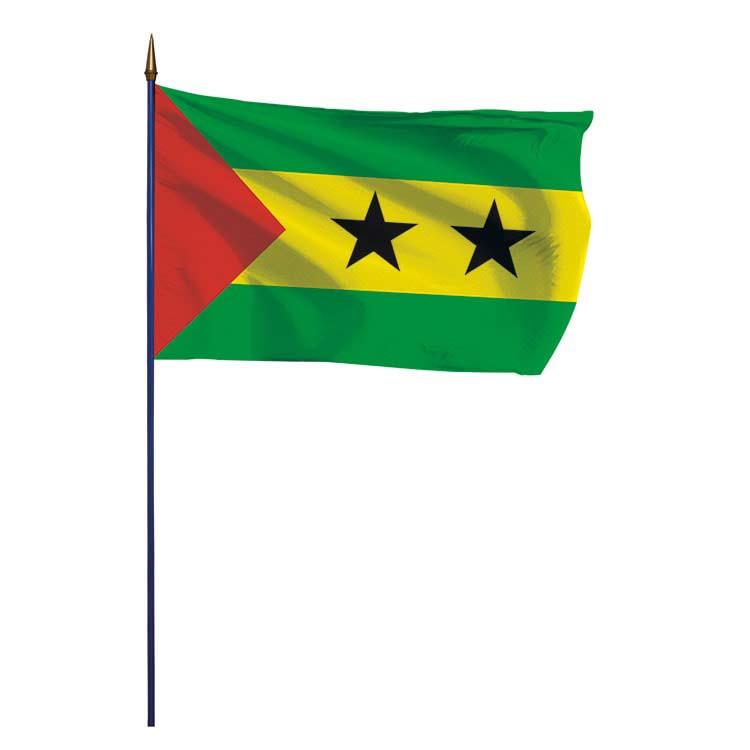 Drapeau Sao Tomé et Principe