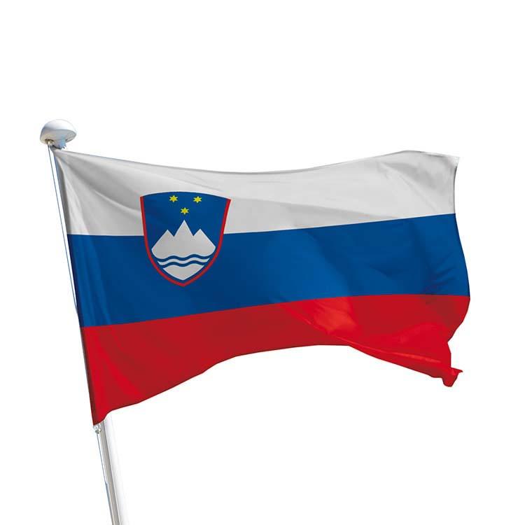 Drapeau Slovénie pour mât