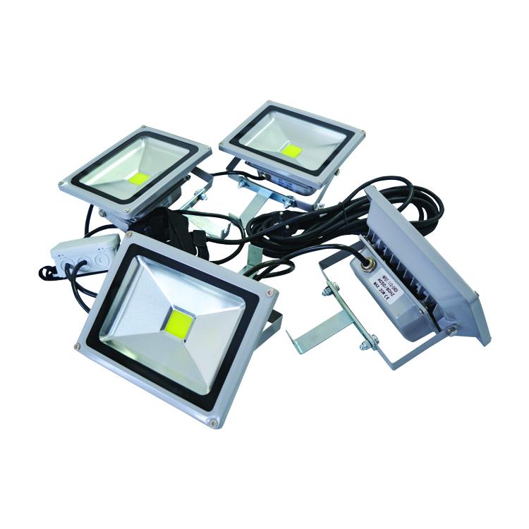 4 spots LED pour dome Xtrem et stand comptoir