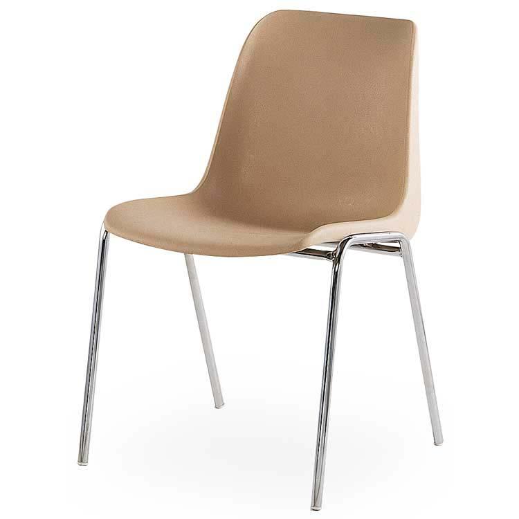 Chaise coque renforcée M2 beige