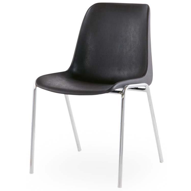 Chaise Coque M4 noir