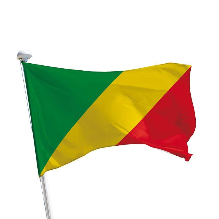 Drapeau Congo pour mât