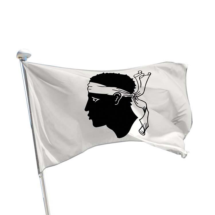 Drapeau province Corse pour mât