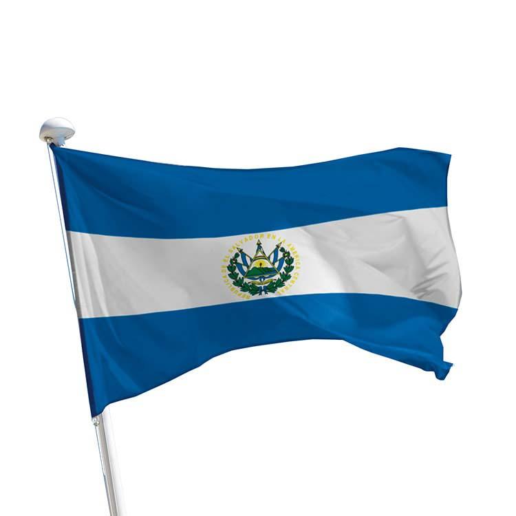 Drapeau El Salvador pour mât