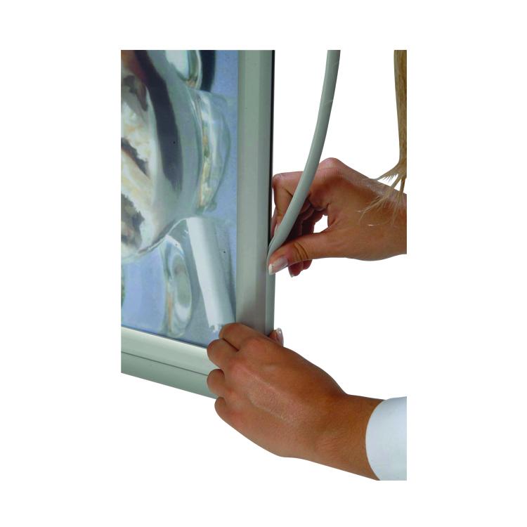 Protection du porte affiche autocollant