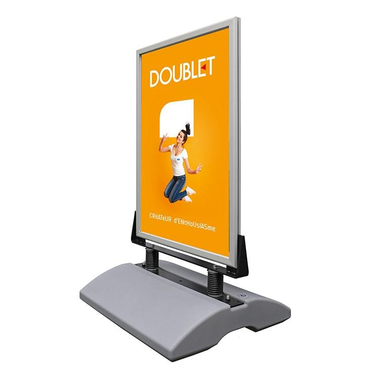 Porte-affiches Clip-Clap lestable