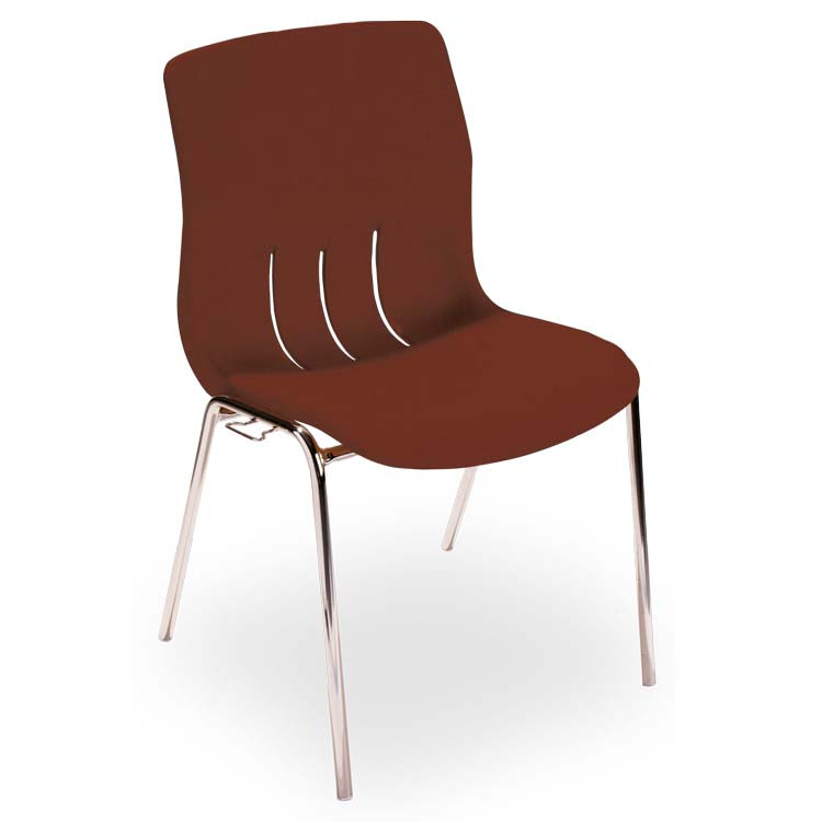 Chaise Coquergo M4 marron