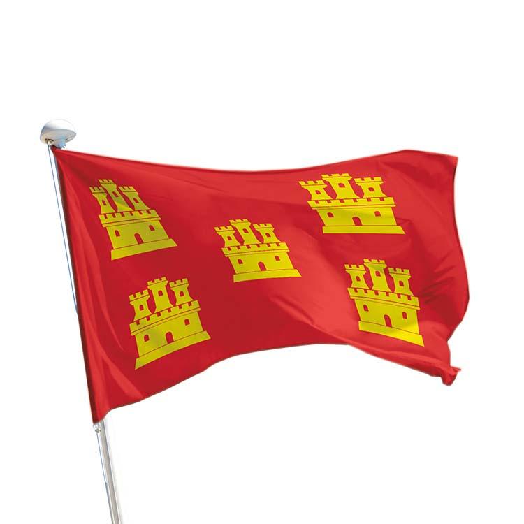 Drapeau province Poitou pour mât