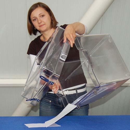 Urne de vote facile à vider