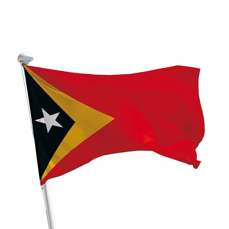 Drapeau Timor-Lesté pour mât
