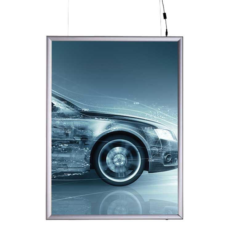 Rahmen zum Abhängen LED
