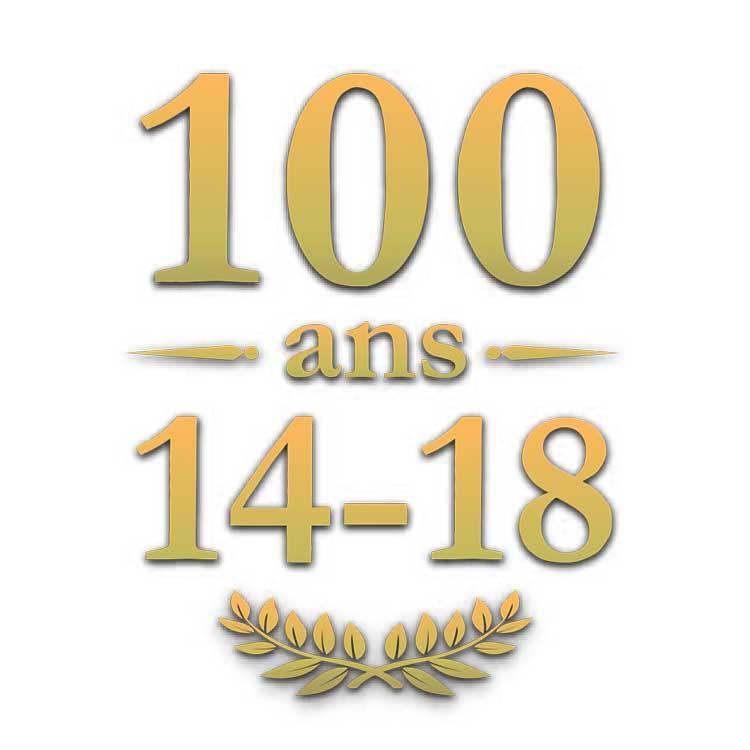 Adhésif 100 ans de la première guerre mondiale